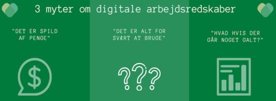 3 myter om digitalisering