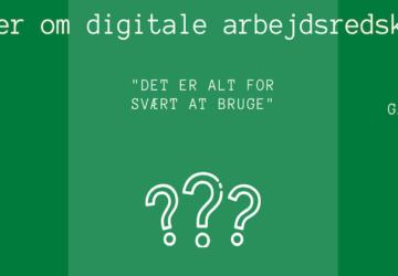 Opgør med 3 forbehold om digitale arbejdsredskaber