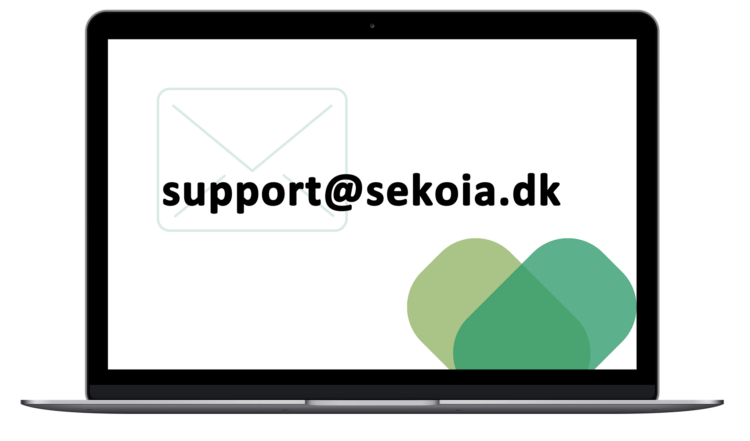 Email til support